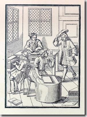 中世ヨーロッパの製本工房