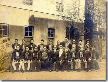青木兄弟製本所 1927年の仕事始め